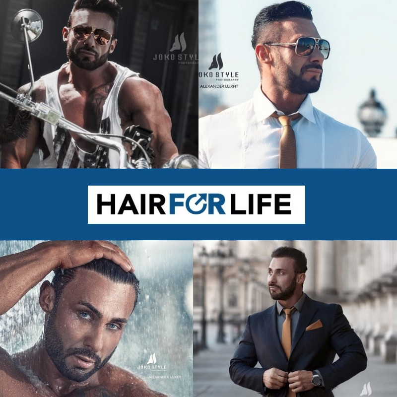 Hairforlife Kunde Alexander