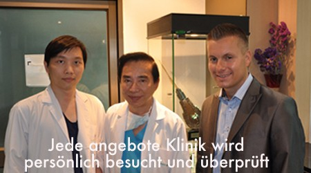 Andreas Krämer Hairforlife Klinikbesuch in Thailand